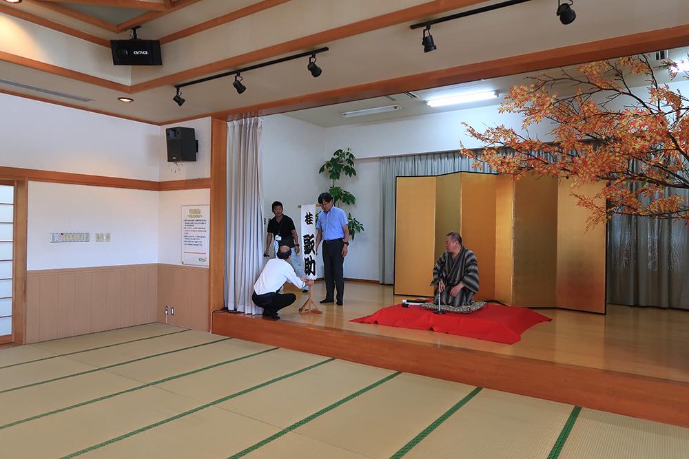 昭和村秋祭り視察