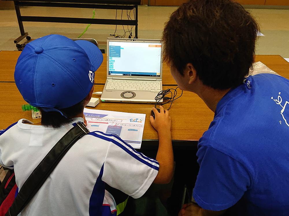 ドローンログラミング教室